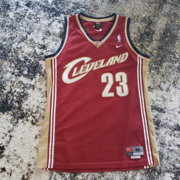 wholesale dealer 9f9b4 674d3 LeBron James authentic vintage Cavaliers Jersey